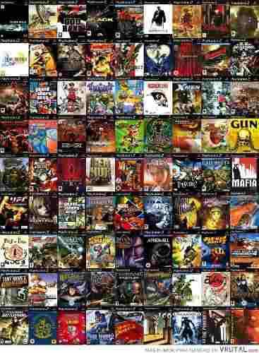 Lote juegos ps2 playstation 2 todos los titulos x 10 juegos