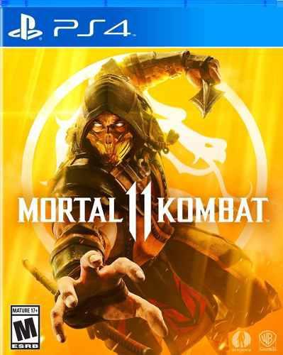 Mortal kombat 11 ps4. fisicos nuevos y sellados stock ya!!!