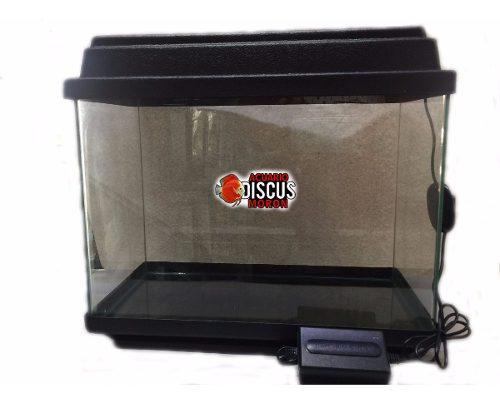 Pecera 40x30x20-tapa con led y base el mejor precio