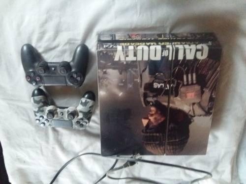 Playstation 4 500gb + 21 juegos originales + 2 joystick ps4