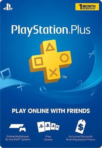 Playstation plus ps4 ps3 ps vita un mes_no código