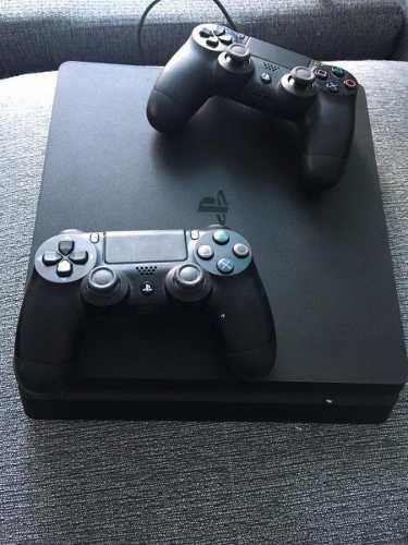 Ps 4 ps4 slim + 2 joystick original + 4 juegos fisico