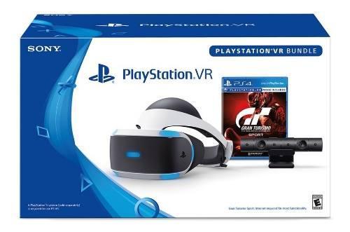 Sony playstation ps4 vr gran turismo bundle + env gratis