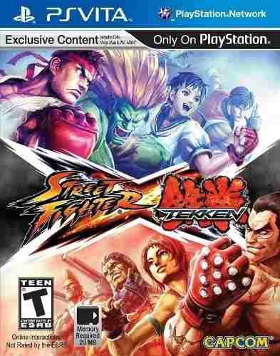 Street Fighter X Tekken Fisico Nuevo Sellado Ps Vita