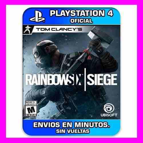 Tom clancys rainbow six siege ps4 español latino 30% off