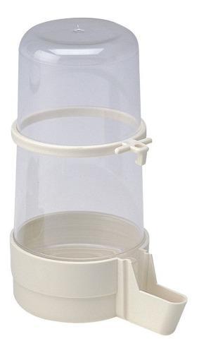 Bebedero externo interno pajaros erizos agua aves 400ml