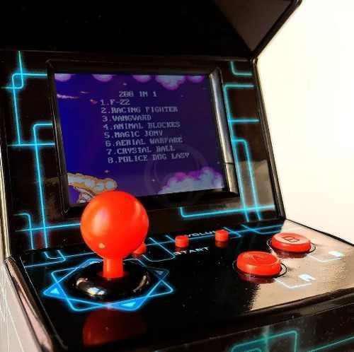 Consola kanji microfichines arcade la plata