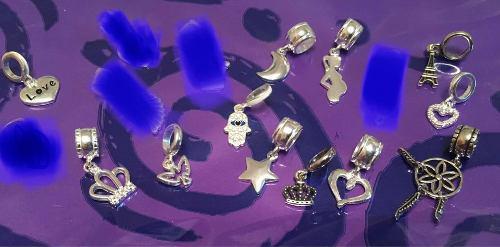 Dije charm para pulsera pandora de plata 925 por unidad