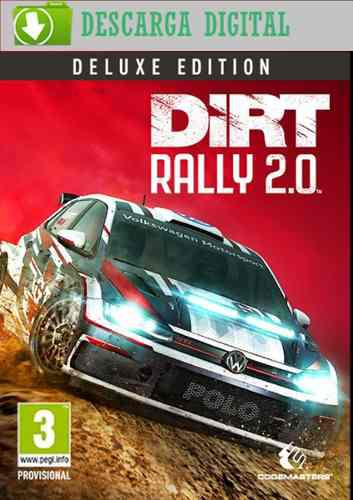 Dirt rally 2.0 deluxe edition - juego pc digital - estreno!