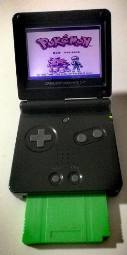 Gameboy advance sp ags-001 + pokemon!