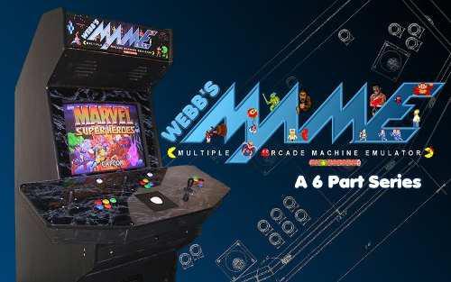 Mame 32 arcade fichines de la infancia mas de 6000 juegos