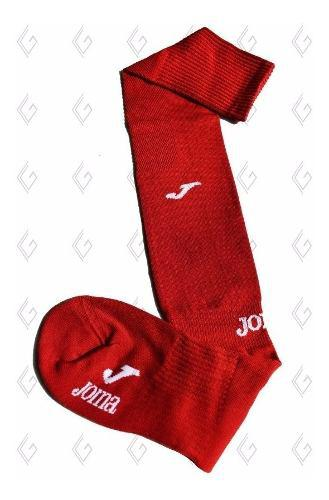 Medias futbol rojas largas joma hockey voley