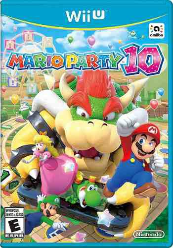 Pack juegos digitales wii u. mario partys 10 + pack oferta!
