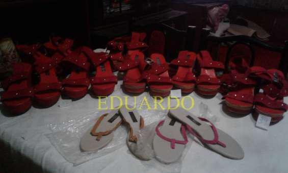 Para revendedores o feriantes vendo lote de sandalias nuevas