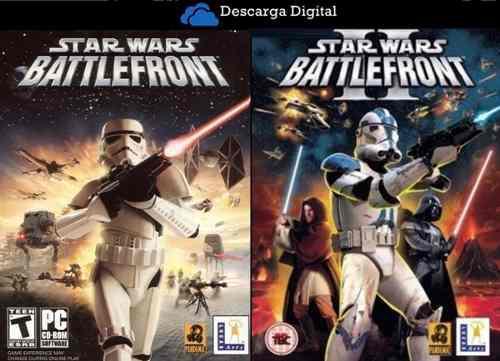 Star wars battlefront 1 + 2 juegos pc digital - entrega ya