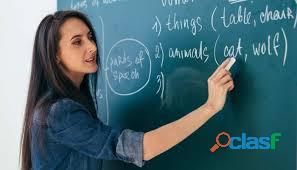 Profesora de inglés todos los niveles. clases personalizadas.