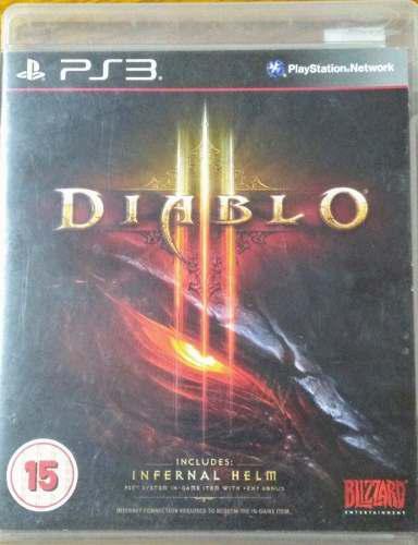 Diablo 3 juego fisico en español para ps3