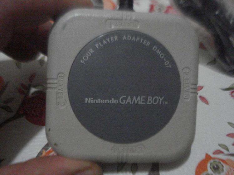 Nintendo gb game boy adaptador para 4 jugadores dmg07