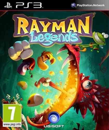 Rayman legends ps3 juego cd original fisico sellado