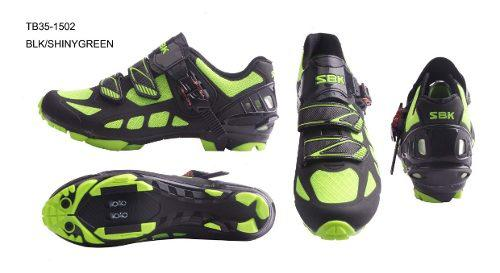 Zapatillas zapatos bicicleta mtb sbk ciclismo tb35-b1502