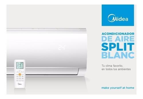 Aire split midea blanc 3000 frigorias frio calor