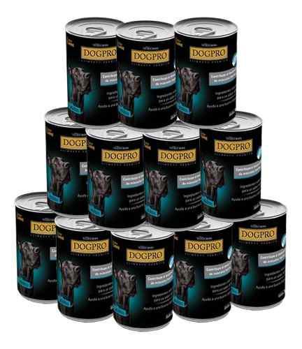 Alimento húmedo dogpro. caja 12 latas. *envios gratis caba*
