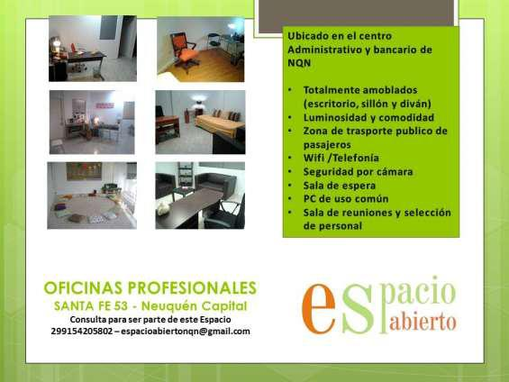 Alquiler oficinas profesionales en neuquén