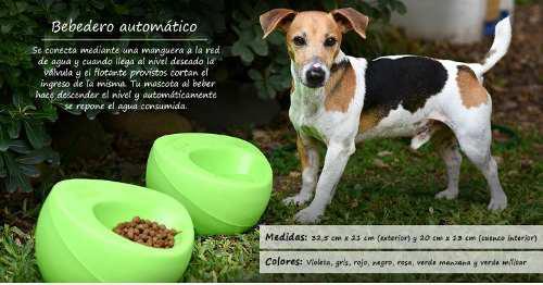Bebedero automatico para perros eggys exterior