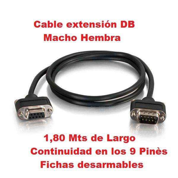 Cables rs232 db9 para impresoras epson hasar, citizen zebra