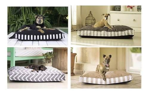 Colchón cama perros grandes funda cierre frases estampas **