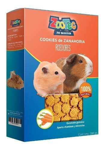 Cookies golosinas roedores cobayo hamster zootec 200gr
