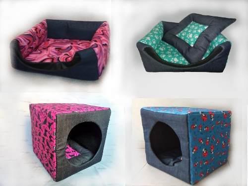 Cucha moises cama 3 en 1 de 40 x 40 para gatos y perros