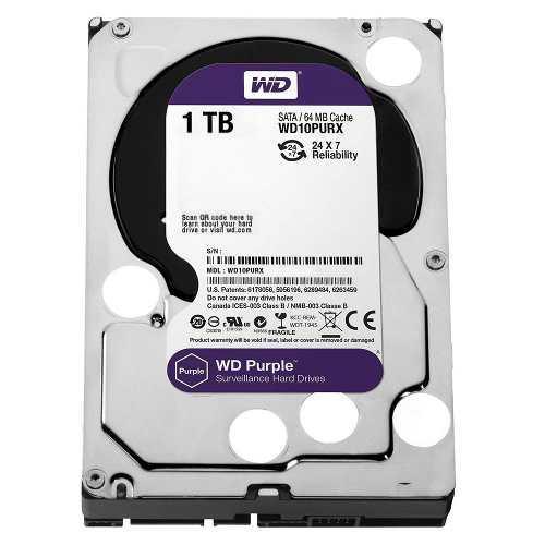 Disco rigido 1tb purple western digital dvr seguridad mexx