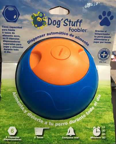 Dispenser automático de alimento para perros