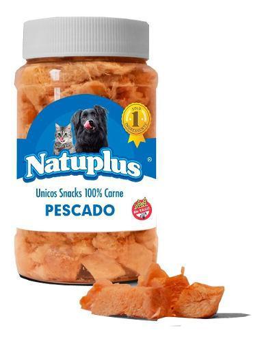 Golosinas perro gato natural saludable pescado natuplus 100g
