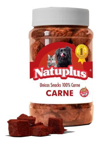 Golosinas perros gato natural saludable carne natuplus 100g