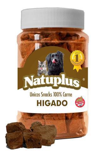 Golosinas perros gato natural saludable higado natuplus 100g