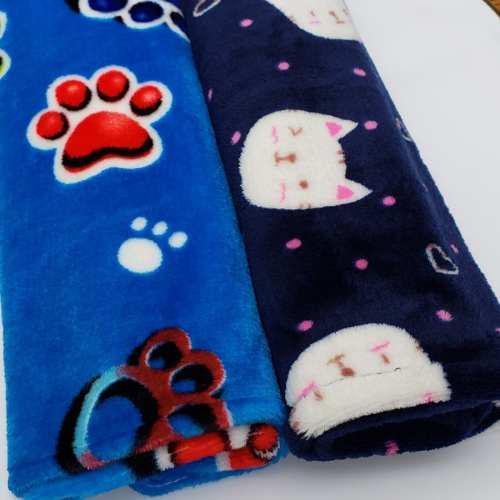 Mantas polar soft perro gato de 1 x 0,70 cm - dogideas