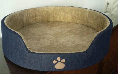 Moises jean cucha mascota perro grande 70cm