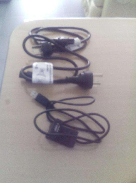 Set de cables. prolongador usb. cable av