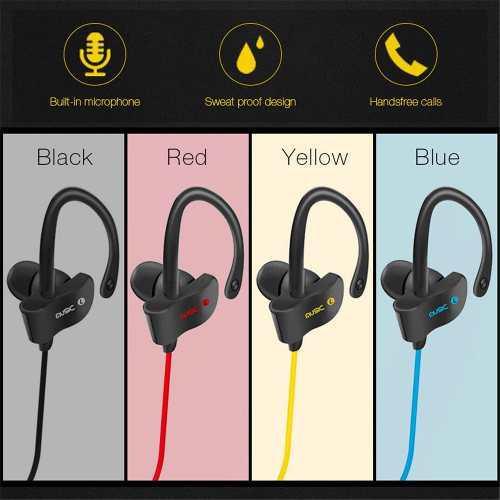 Auricular bluethooth 4.1 sport gym sweatproof stereo