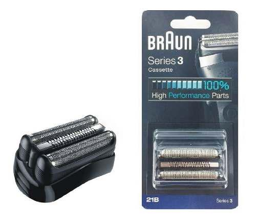 Repuesto afeitadora braun 21b foil serie 3 310s original