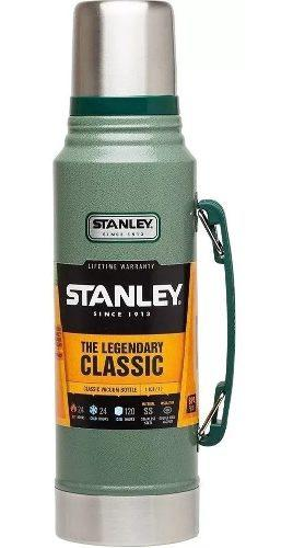 Termo 1 litro stanley clasic con manija larga duracion envio