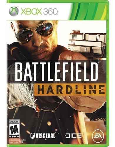 Battlefield hardline xbox 360 ntsc juego fisico sellado cd