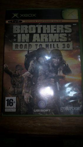 Brothers in arms - road to hill (xbox clásica)