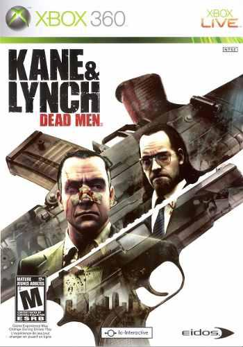 Juego kane and lynch dead men xbox 360 ntsc en español