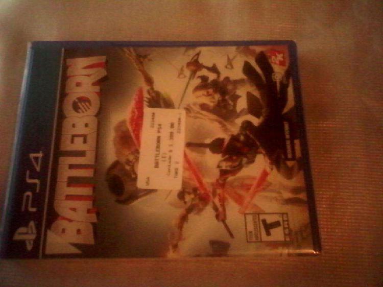 Juego ps4 battleborn nuevo sellado original. oferta!!!