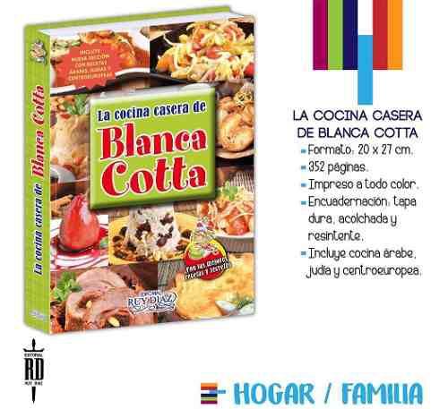 Libro la cocina casera de blanca cotta - tapa dura color
