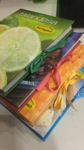 Lote libros cocina tailandesa mexicana turca griega