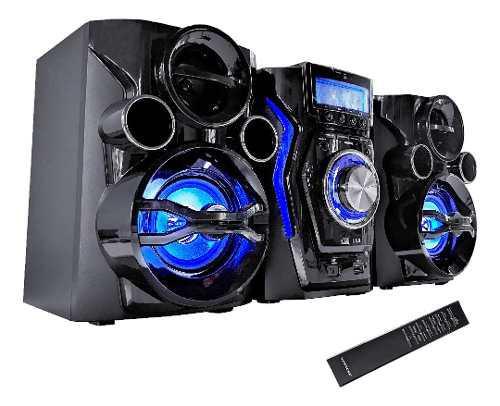 Minicomponente bluetooth winco equipo de música radio usb
